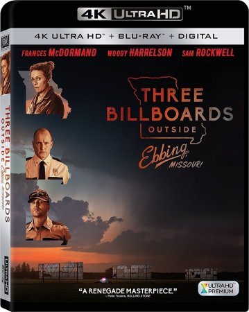 Three Billboards Outside Ebbing, Missouri 4K 2017 UHD REMUX 2160p
