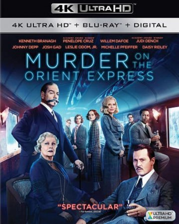 Murder on the Orient Express 4K Blu-ray 2017