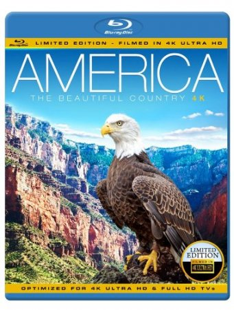 America - The Beautiful Country 4K Blu-ray 2013