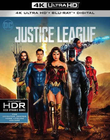 Justice League 4K Remux 2017 UHD 2160p