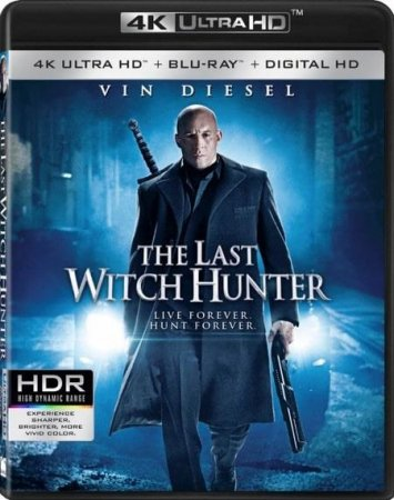 The Last Witch Hunter 4K REMUX Blu-ray 2015