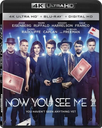 Now You See Me 2 4K (2016) Ultra HD 2160p REMUX