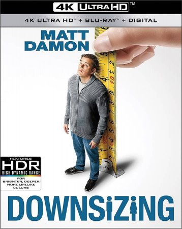 Downsizing 4K 2017 Ultra HD 2160p REMUX