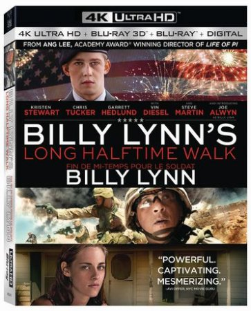 Billy Lynn's Long Halftime Walk 4K 2016 Ultra HD 2160p REMUX