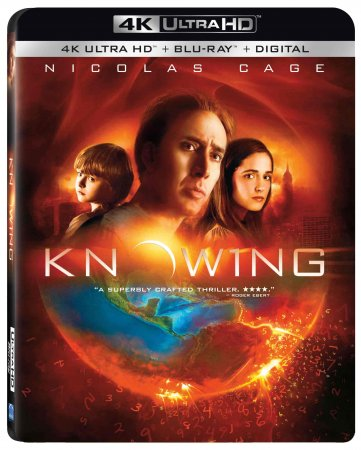 Knowing 4K Blu-ray 2009 Ultra HD