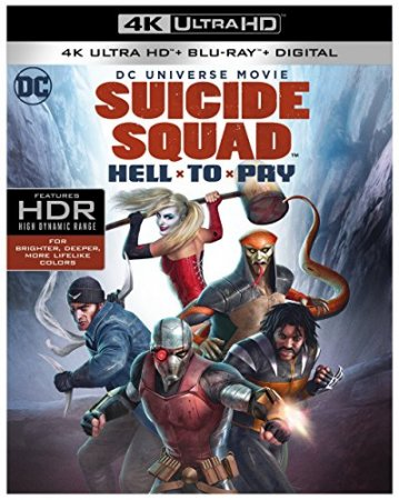 Suicide Squad: Hell to Pay 4K Blu-ray 2018 REMUX