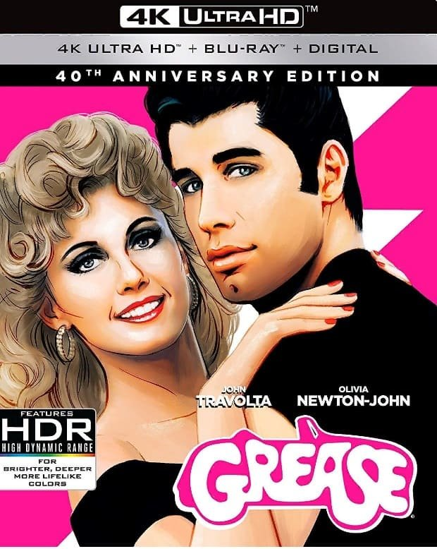 Grease 4K (1978) Ultra HD 2160p REMUX » Blu-Ray Movies Download