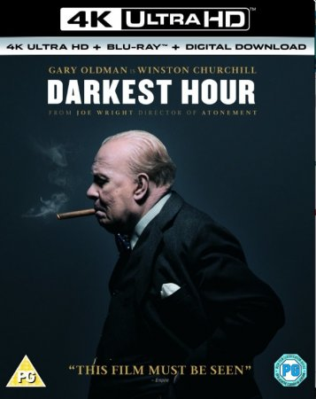 Darkest Hour 4K Blu-ray