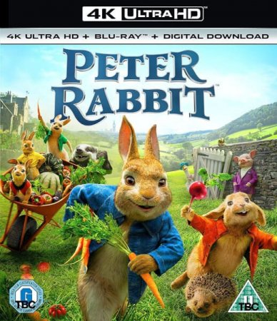 Peter Rabbit 4K Blu-ray Ultra HD