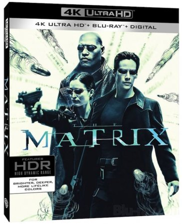 The Matrix 4K Ultra HD Blu-ray