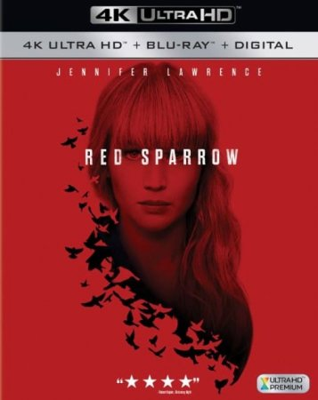 Red Sparrow 4K Blu-ray 2018