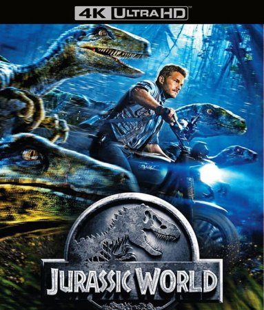 Jurassic World 4K Blu-ray