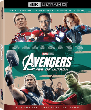 Avengers: Age of Ultron 2015 4K Ultra HD