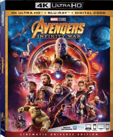 Avengers: Infinity War 2018 4K Ultra HD