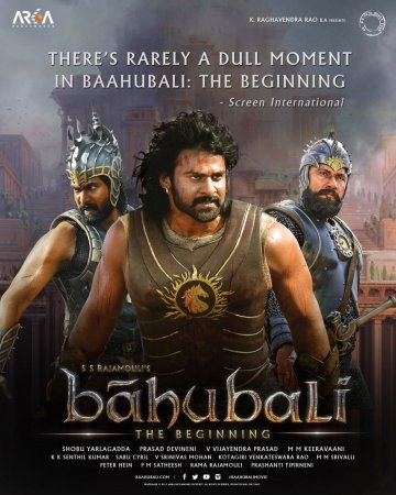 Bahubali: The Beginning (2015) Hindi Dubbed