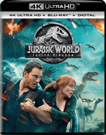 Jurassic World: Fallen Kingdom 4K 2018 Ultra HD