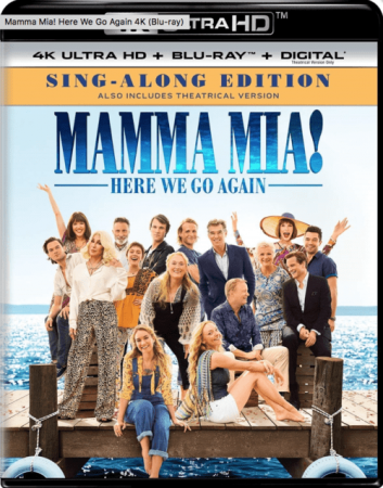 Mamma Mia! Here We Go Again 4K 2018 Ultra HD 2160p