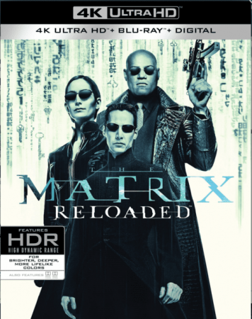 The Matrix Reloaded 4K 2003 Ultra HD