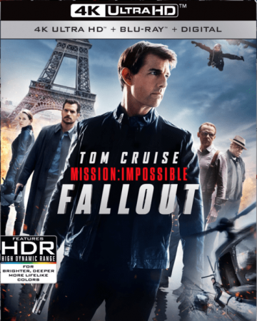 Mission: Impossible - Fallout 4K 2018 Ultra HD
