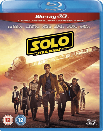 Solo A Star Wars Story (2018) 1080p 3D Full HD