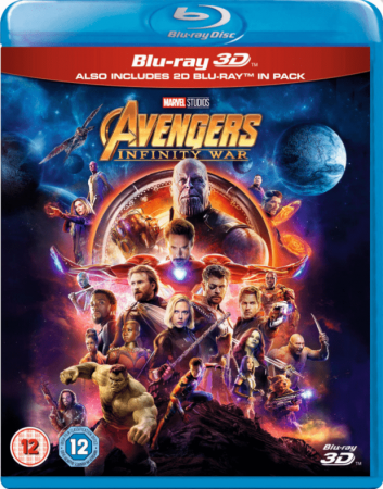 Avengers Infinity War (2018) 1080p 3D Full HD