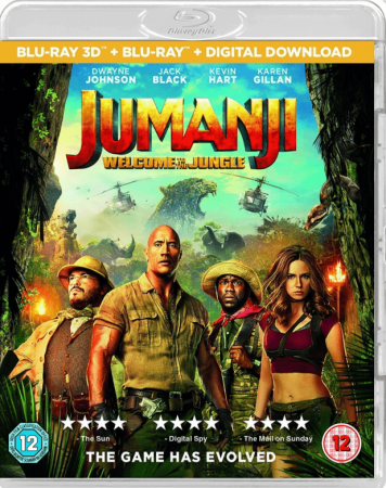 Jumanji Welcome to the Jungle (2017) 1080p 3D Full HD