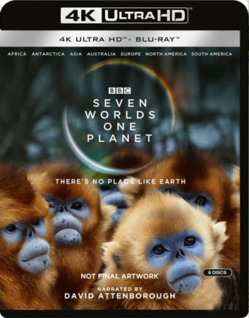 Seven Worlds One Planet 4K S01 Ultra HD 2160p