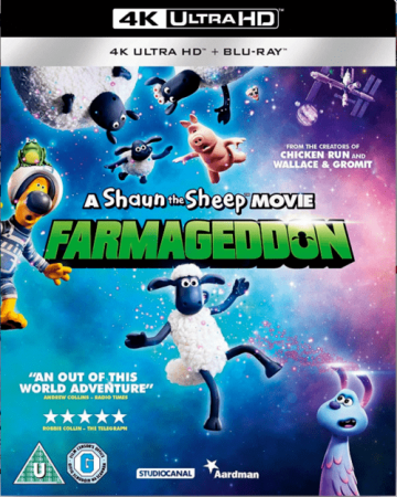 A Shaun the Sheep Movie Farmageddon 4K 2019 Ultra HD 2160p