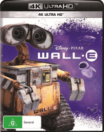 WALL-E 4K 2008 Ultra HD 2160p