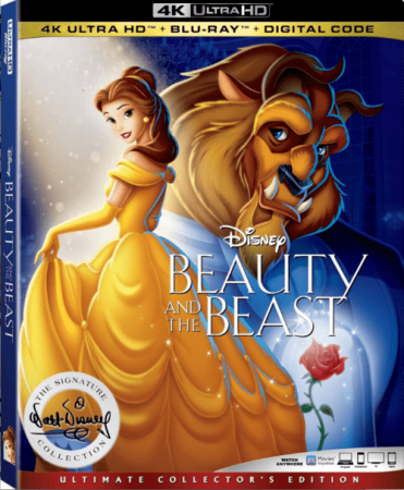 Beauty and the Beast 4K 1991 Ultra HD 2160p