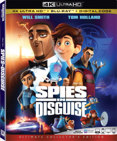 Spies in Disguise 4K 2019 Ultra HD 2160p