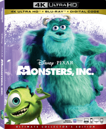 Monsters Inc 4K 2001