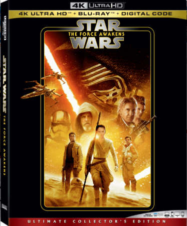 Star Wars Episode VII The Force Awakens 4K 2015
