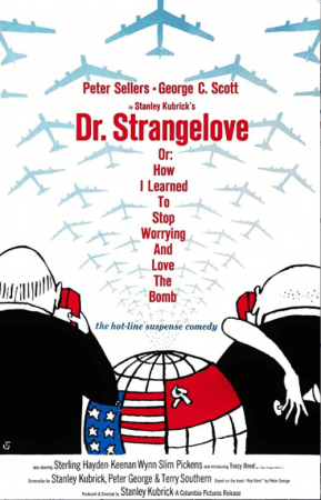 Dr. Strangelove Or How I Learned to Stop Worrying and Love the Bomb 4K 1964 Ultra HD 2160p