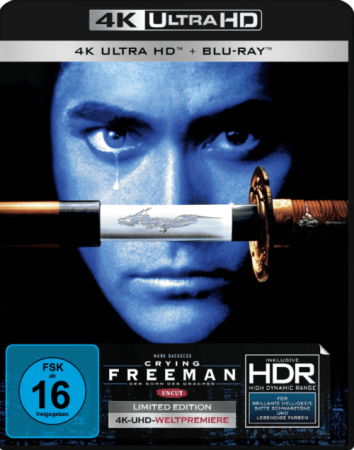Crying Freeman 4K 1995 Ultra HD 2160p
