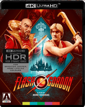 Flash Gordon 4K 1980 Ultra HD 2160p
