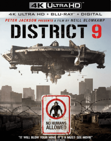 District 9 4K 2009 Ultra HD 2160p