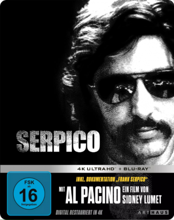 Serpico 4K 1973 Ultra HD 2160p